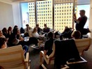 <p>A group of AP Studio Art students were treated to a behind-the-scenes experience and opportunity to explore various art-related and creative careers when they visited the offices of Vogue magazine and Ralph Appelbaum Associates on March 15. </p>