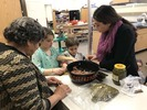 <p>Third-grade students in teacher Justin Chao and teacher resident Krystle Tawil's class rolled up their sleeves and immersed themselves in the Middle Eastern tradition of making stuffed grape leaves on Jan. 22. The activity was part of a learning experience that encouraged the students to enhance their awareness and appreciation for other cultures. </p>