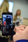 <p>At the Bronxville School, fourth-graders in Heather DeCurtis' class got up close to a tornado and tsunami, sixth-graders in Toby Gillen's class circled around the planets and high school students in Denise Flood's Latin class toured the Colosseum, thanks to Google Expeditions Augmented Reality Pioneer Program on Jan. 17. Equipped with smartphones and selfie sticks, the students tested the new program and wandered around their school's board room or library as the augmented reality images – or 3-D images overlaid onto the real environment – appeared on their phones. </p>