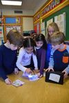 <p>Second-graders in Lori Feingold's and Meg Fischer's classes recently broke away from traditional learning to solve puzzles in their classrooms. Using the puzzle-like systems, called Breakout EDU, the students worked together to open a box, which was secured with different types of locks.</p>