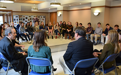 Seniors Discuss School Safety With Local, State Representatives