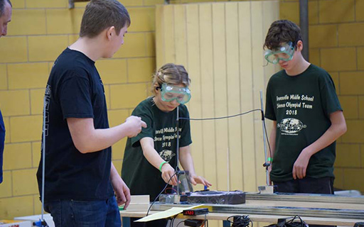 Sail Car Earns Students Medals at Science Olympiad