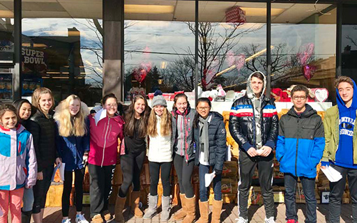 Bronxville School Donates 2,236 Pounds of Food