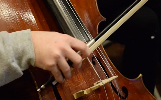 Orchestra Students Compose Music With Professional Musicians